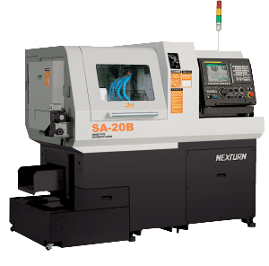 Nexturn SA(B) Job Shop Swiss Lathe Series