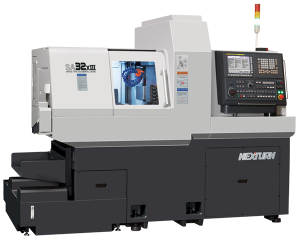 Nexturn SA(XIII) 3 Channel Swiss Turning Center with 3 Y-Axes